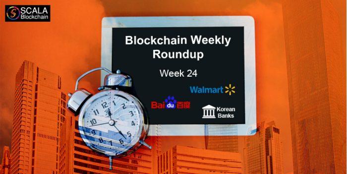 blockchain weekly roundup