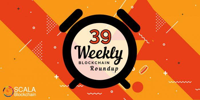 weekly blockchain roundup week 39